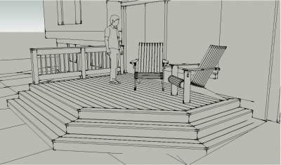 Deck project drawing